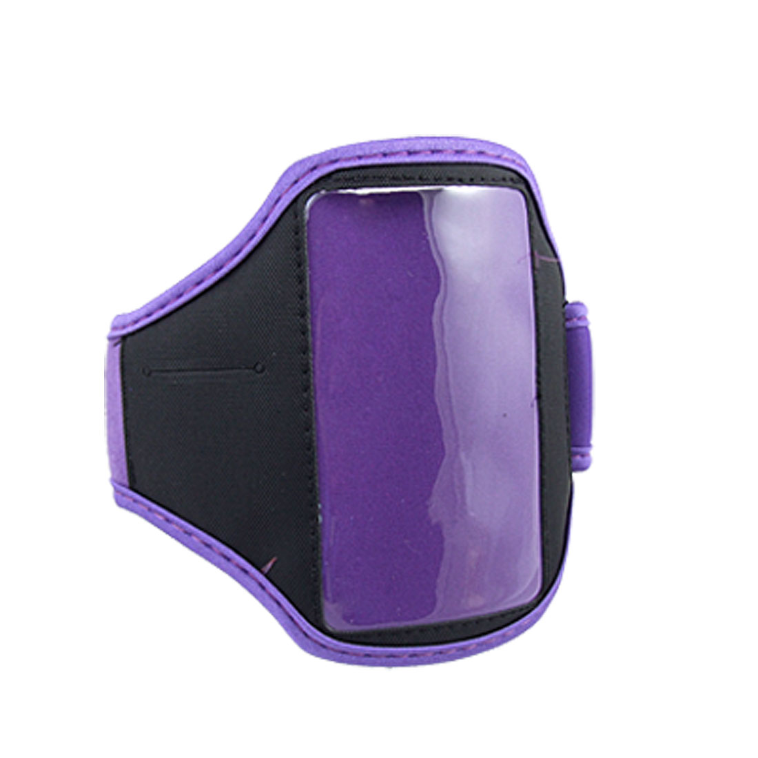 Neoprene Sports Purple Black Armband for iPod Touch 4G