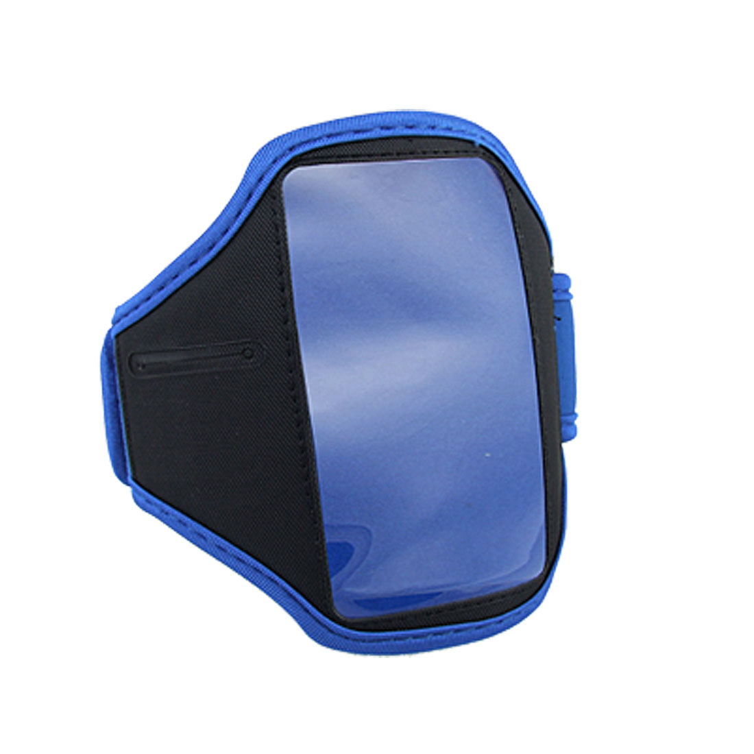 Black Blue Sports Neoprene Armband Cover for iPod Touch 4G