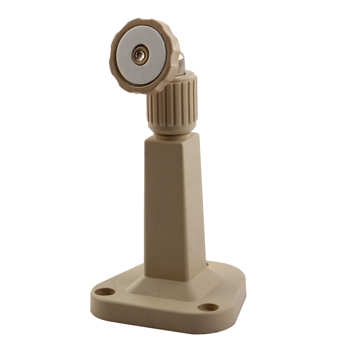 Beige Plastic Wall Mount Stand Bracket for CCTV Security Camera