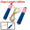 Pink Nevy Blue Foam Handle Soft Plasticskipping Jump Rope w Resettable Counter