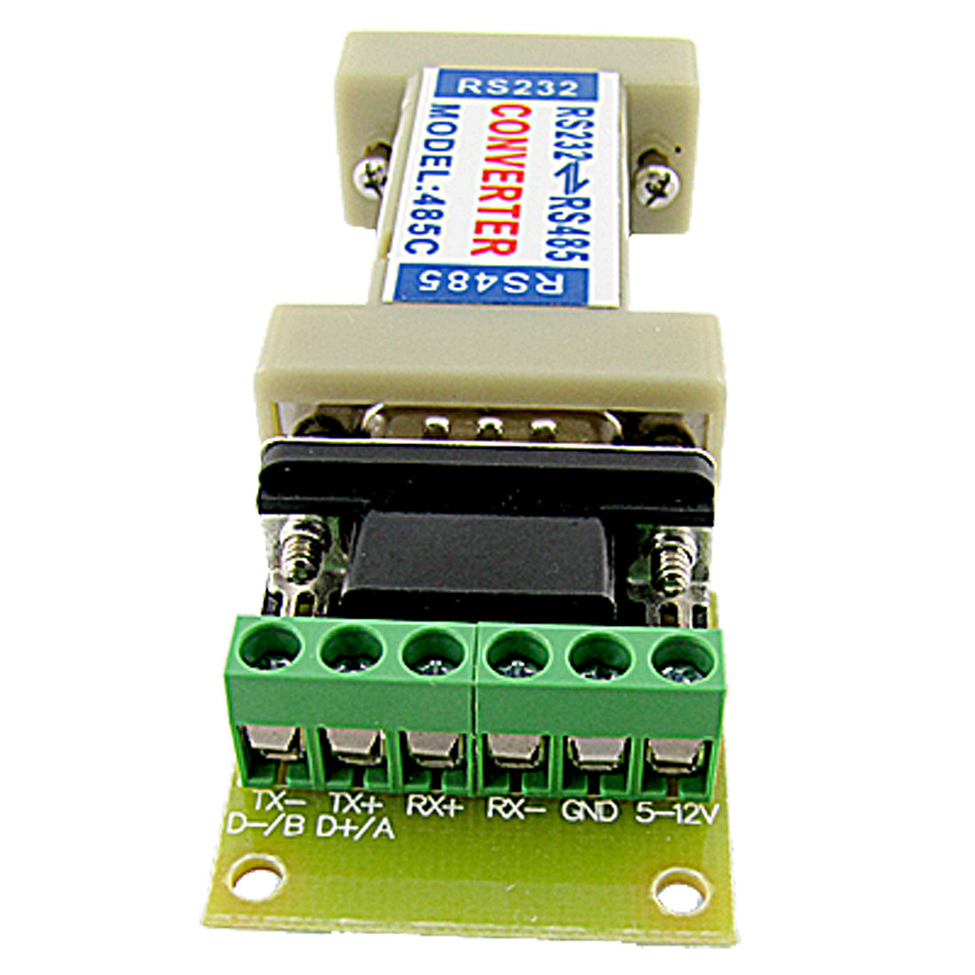 RS232 to RS485 Communication Drivers Signal Converter Adapter