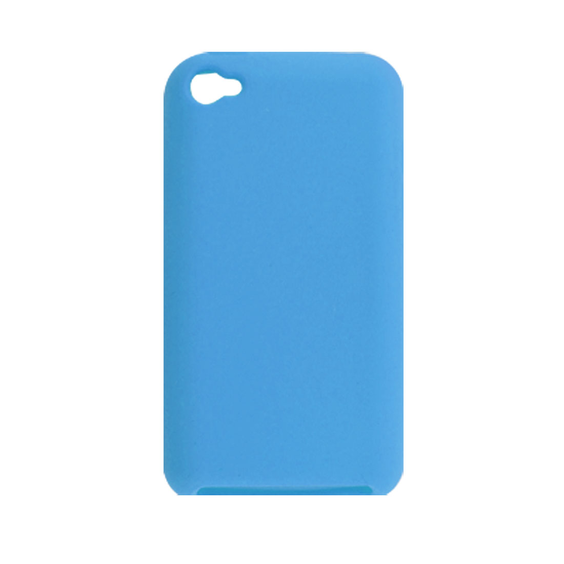 Sky Blue Silicone Skin Case Protector for iPod Touch 4G