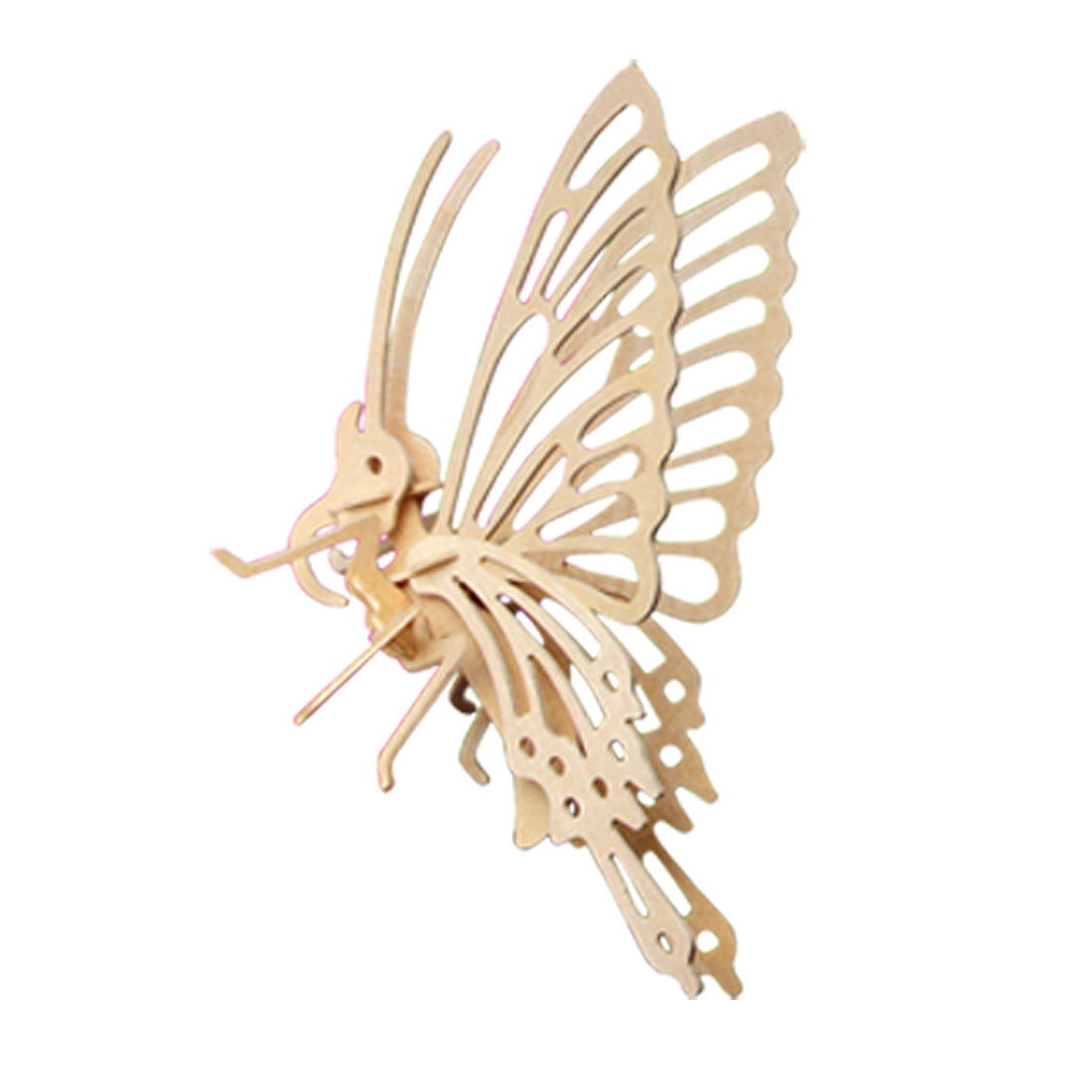 Wooden 3D Flying Butterfly Model Assemble DIY Puzzle Toy