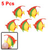 5pcs Aquarium Multicolor Plastic Floating Fish Decoration