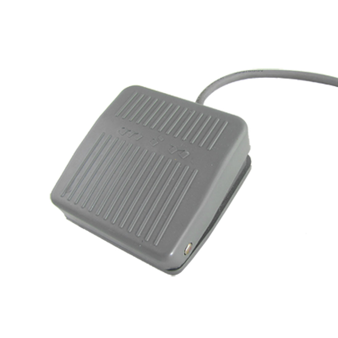 Gray Nonslip Surface Power Treadle Foot Pedal Switch AC 250V 10A SPDT NO NC