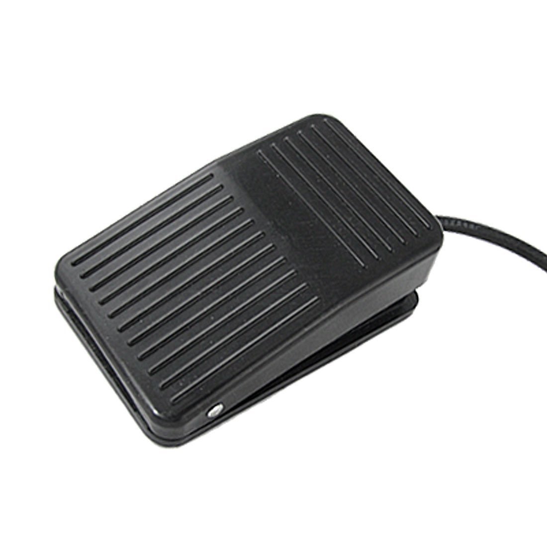 Black Nonslip Plastic CNC Treadle Foot Pedal Switch AC 220V 10A SODT NO NC