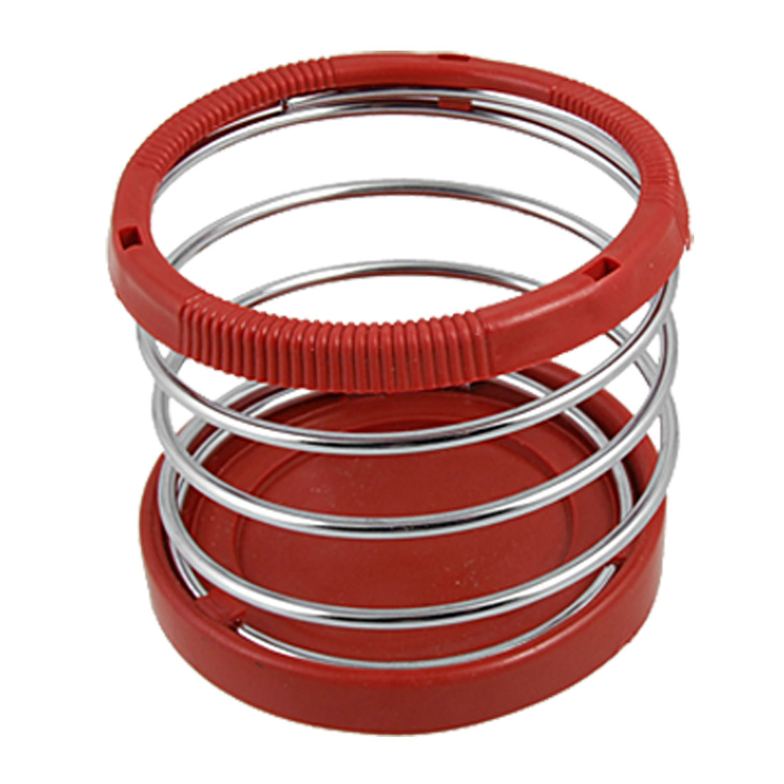 Car Auto Truck Spring Cup Bottle Mount Holder Stand Red