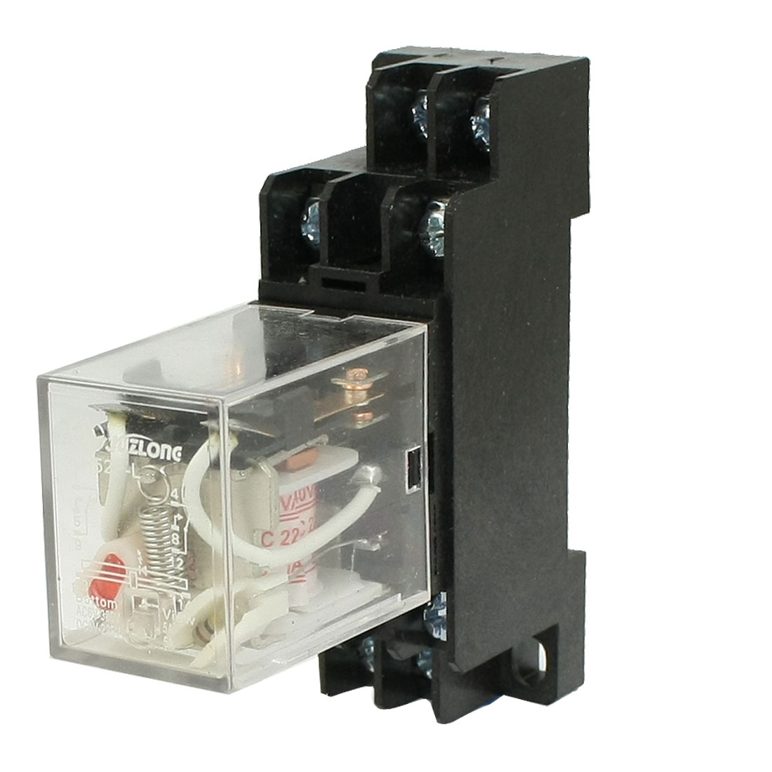 AC 220V / 240V Coil Power Relay MY2NJ HH52P-L 8 PIN 5A w PYF08A Socket Base
