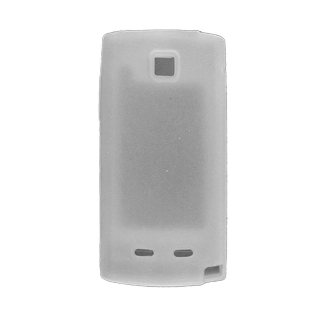 White Silicon Skin Case Shell for Nokia 5250