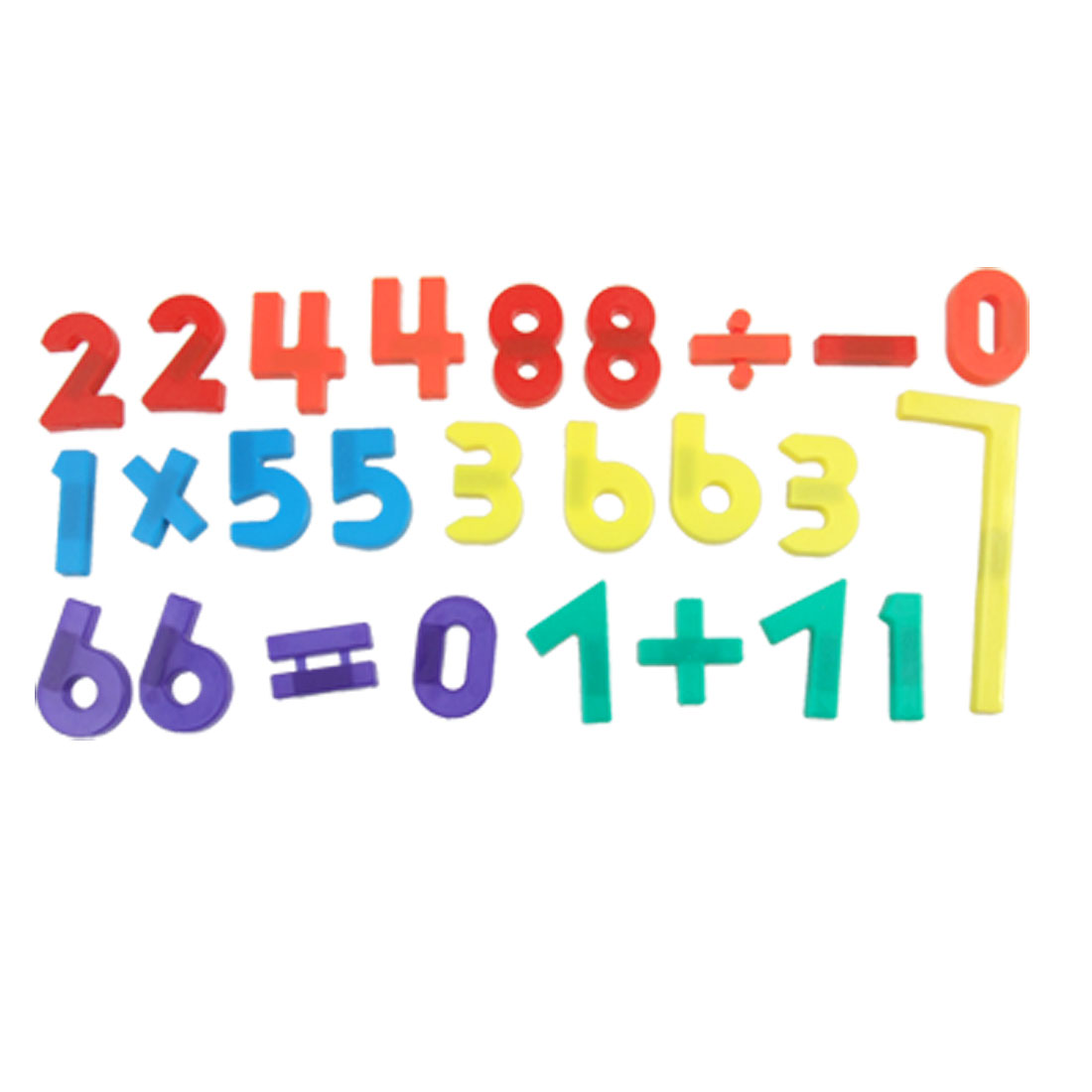 26PCS Colorful Arabic Numbers What Board Fridge Magnet