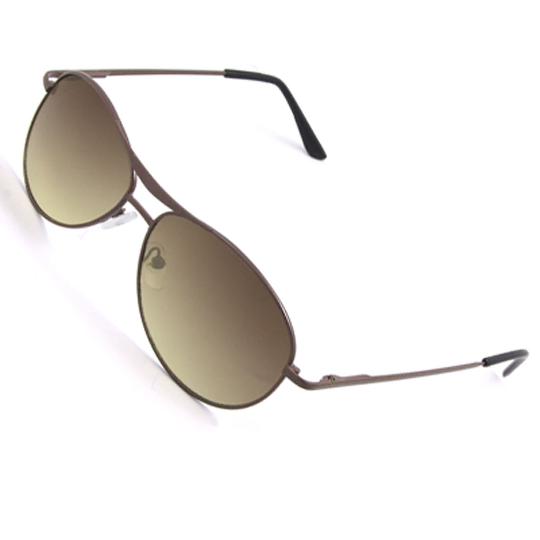 Double Bridge Oval Lens Full Frame Rim Children Sunglasses Eyewear
