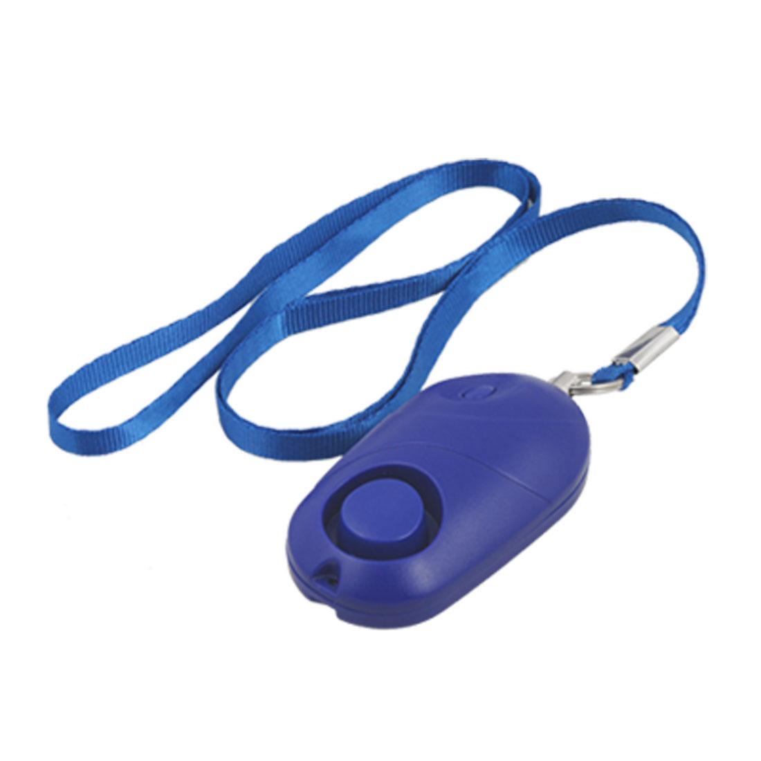 LED Light Handbag Purse Blue Personal Mini Pull Cord Alarm
