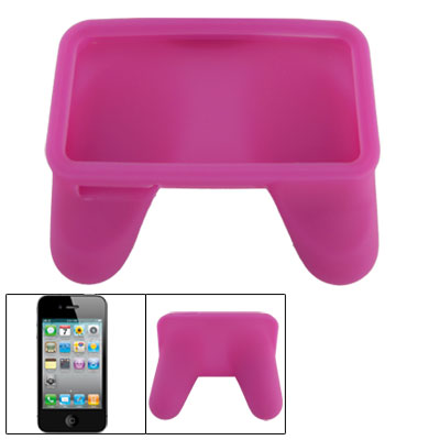 Game Controller Handle Joystick Fuchsia Silicone Skin Case for 4G