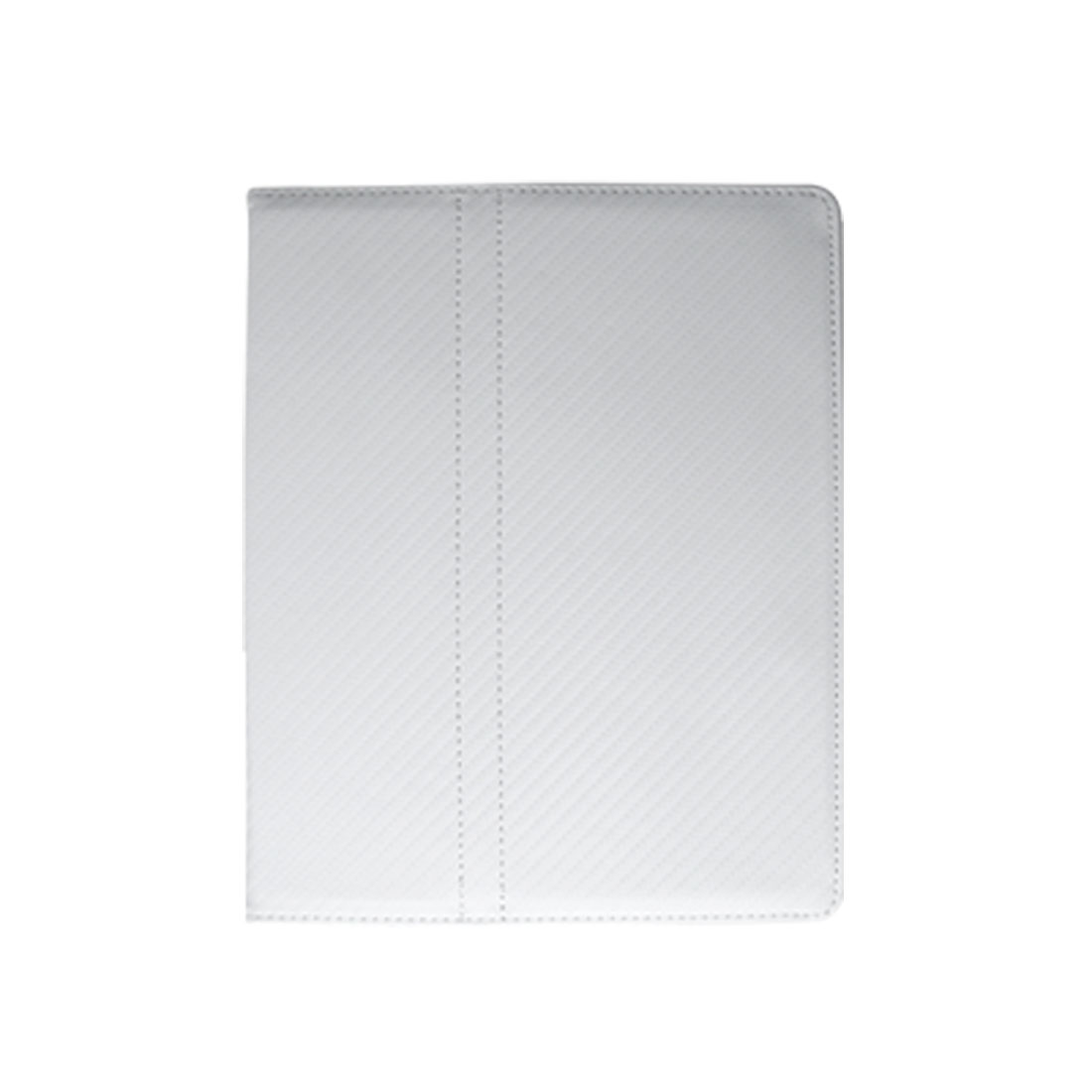 Faux Leather Solid Color White Pouch Protector for iPad 1