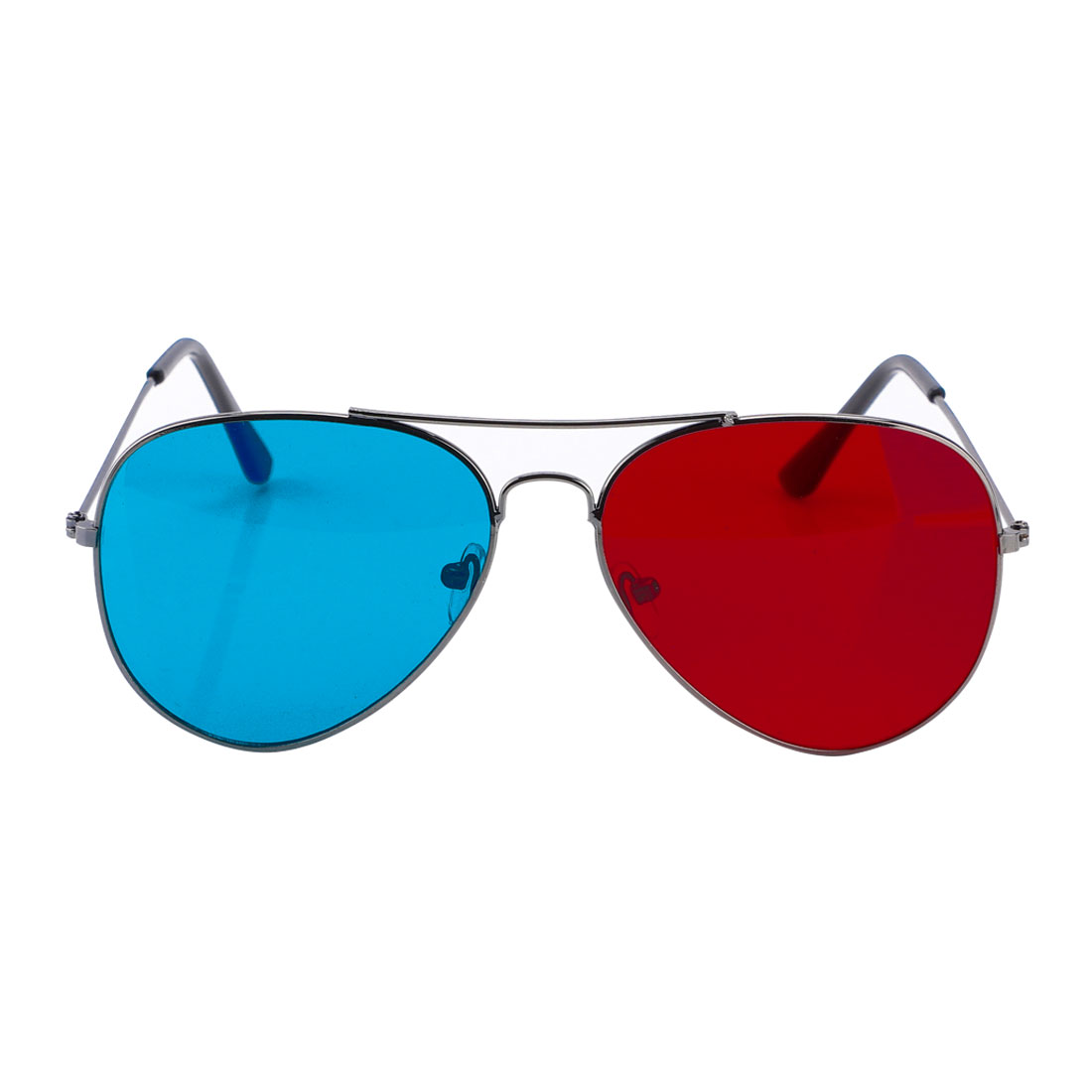Full Frame Magenta Cyan Lens Anaglyph 3D Movie Game Eyeglasses Glasses