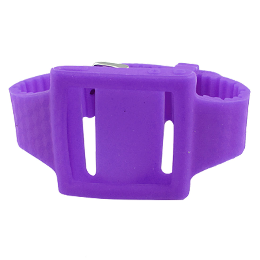 Lavender Silicone Wrist Band Strap Case for iPod Nano 6