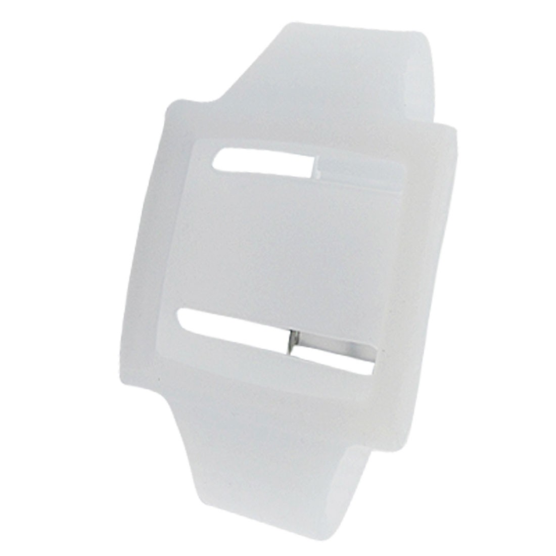 Watch Design Silicone Wrist Strap Case White for iPod Nano 6