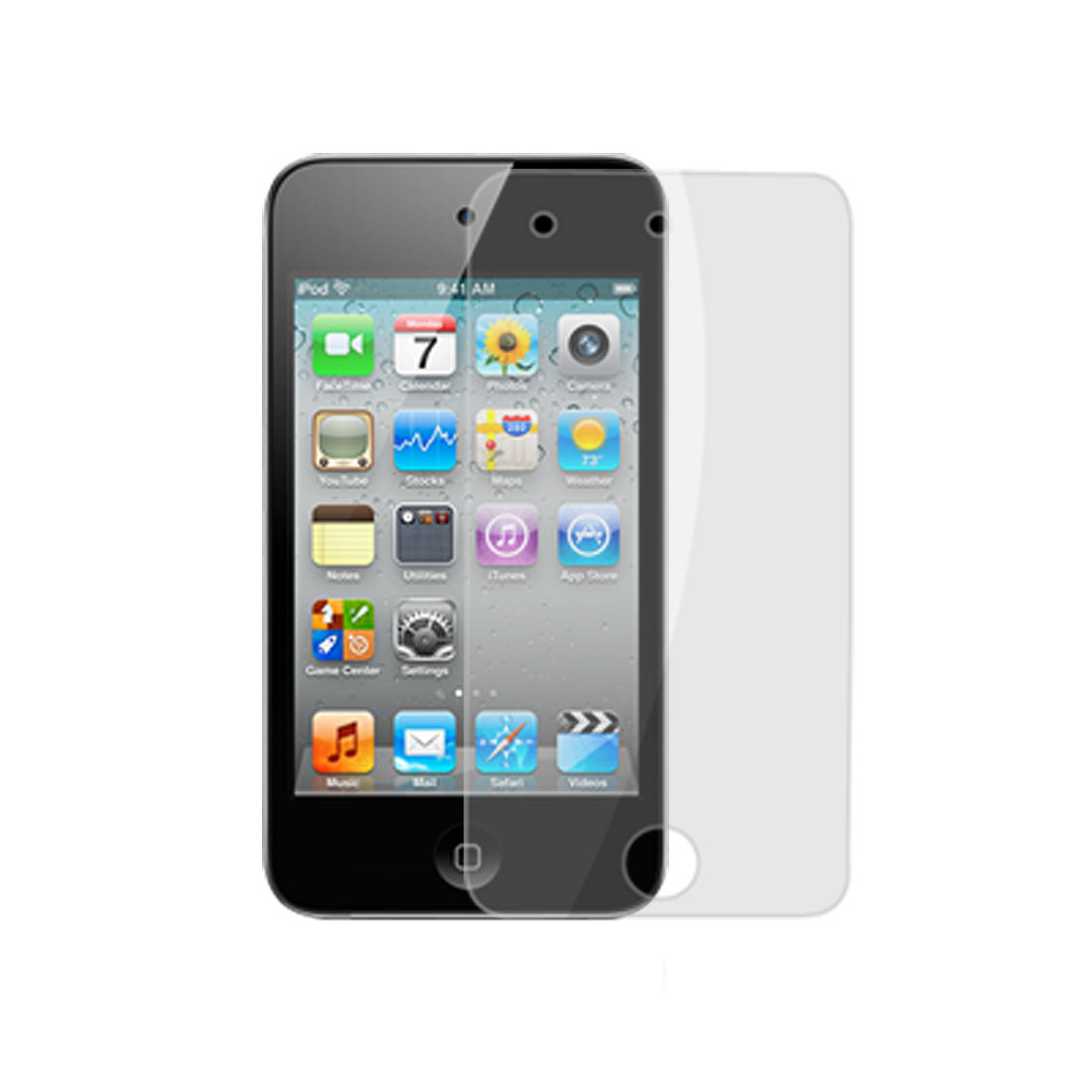 Clear Replacement Screen Protector for iPod Touch 4
