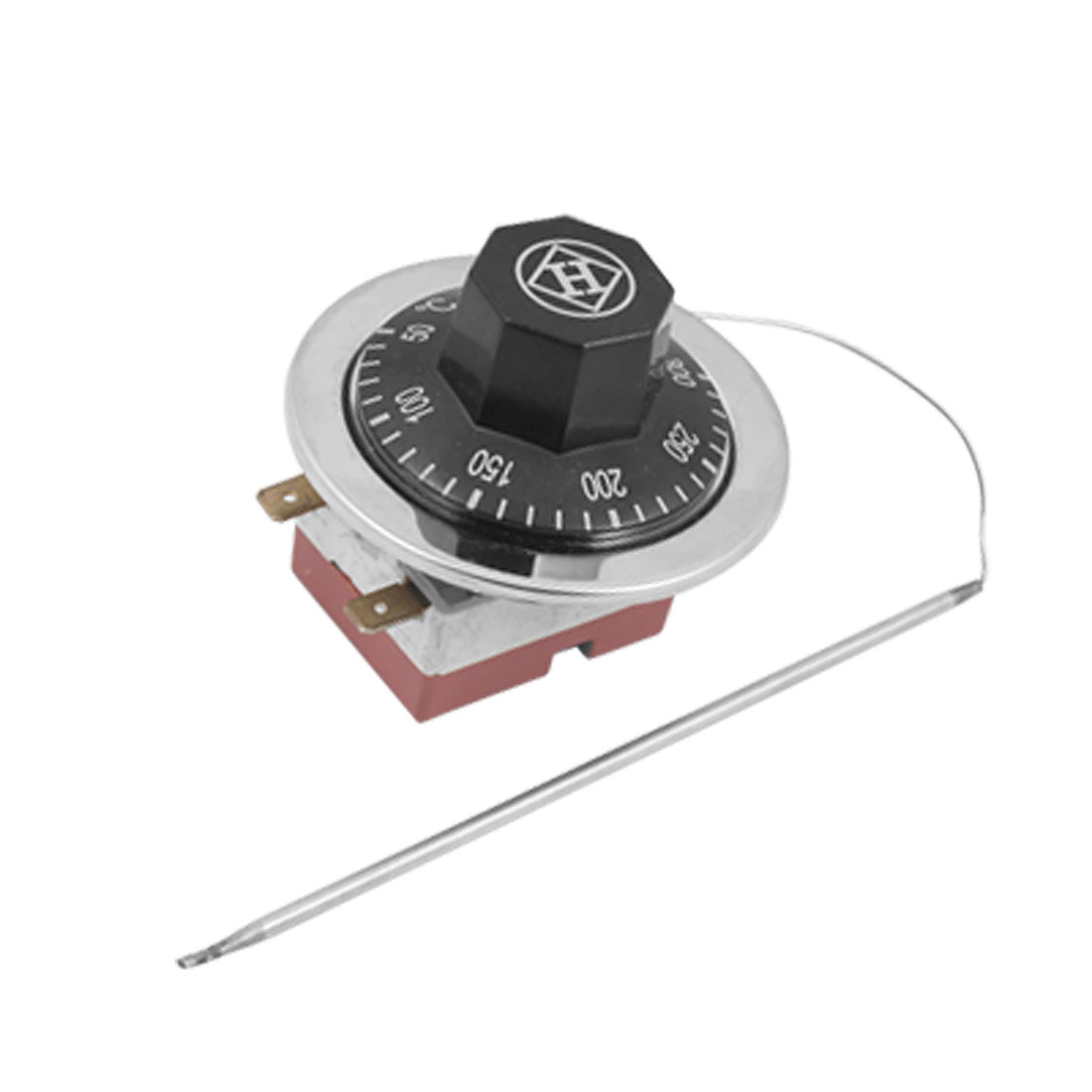 220V 16A 50-300 Degree Celsius NC Temperature Control Capillary Thermostat for Electric Oven