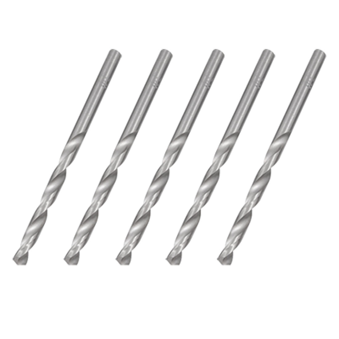 5 PCS Straight Shank 5.8mm Hole Boring Twist Drill Bit