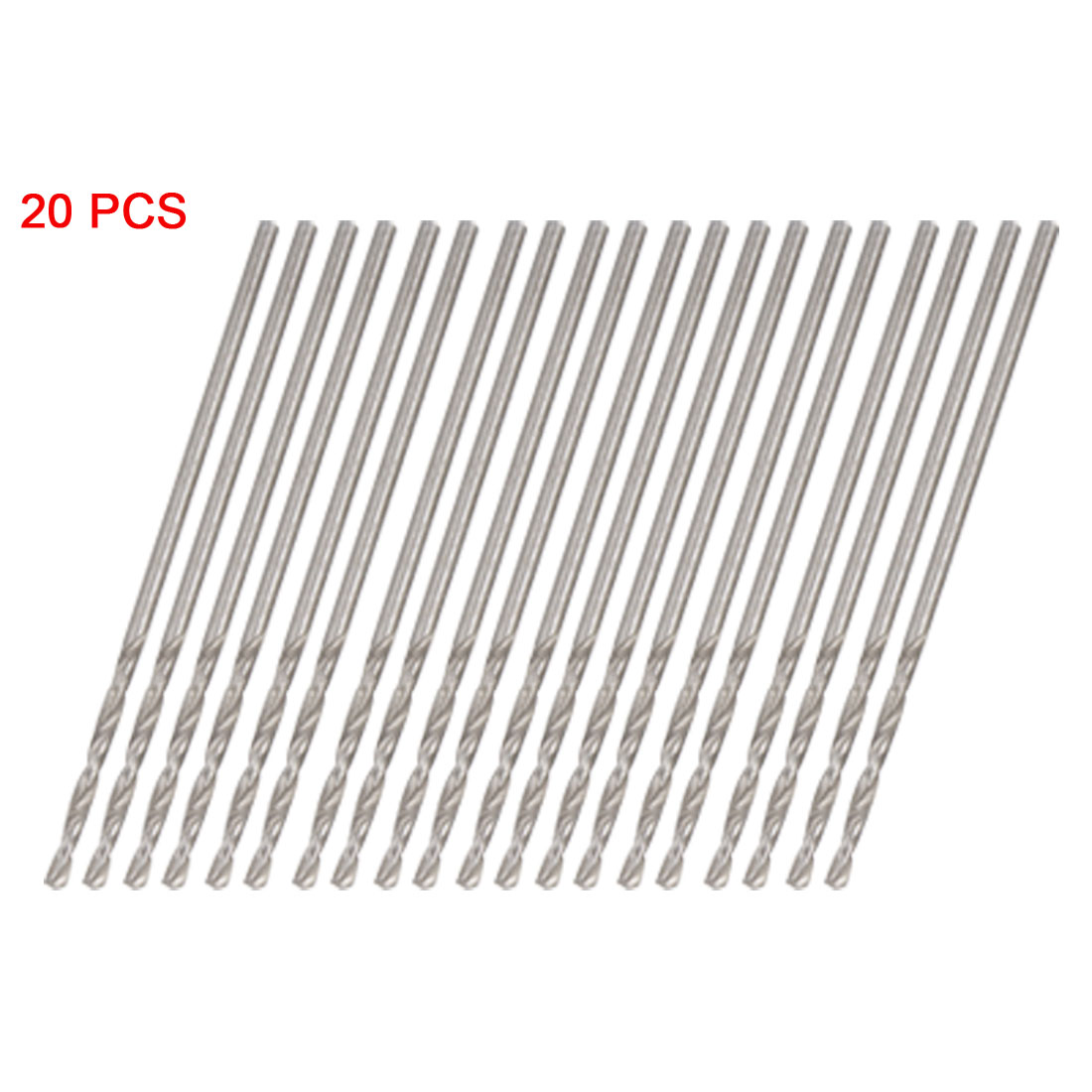 Electrical Drilling Replacement 0.7mm Twist Drill Bit 20 PCS