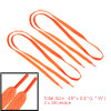 Solid Orange Replacement Flat Shoelaces Bootlaces 49""