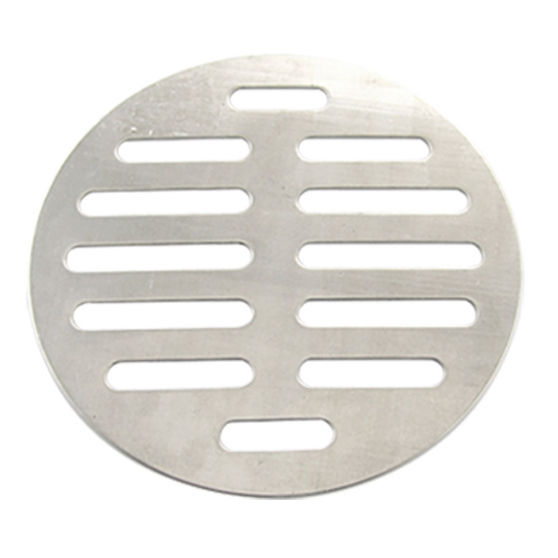 Bathroom Silver Tone Stainless Steel Floor Drain Cover