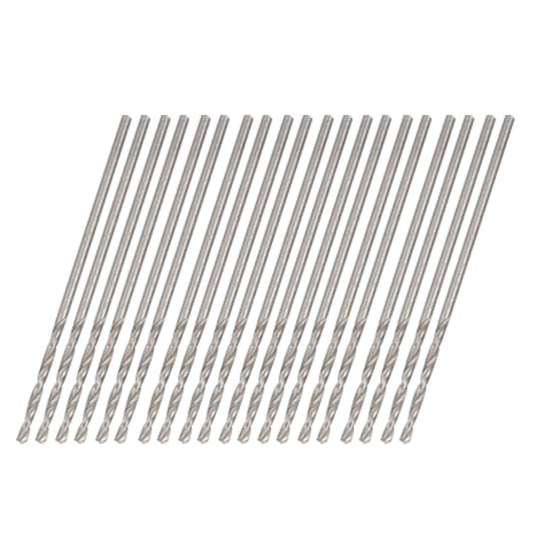 0.9mm Straight Shank Electrical Twist Drill Bit 20 PCS