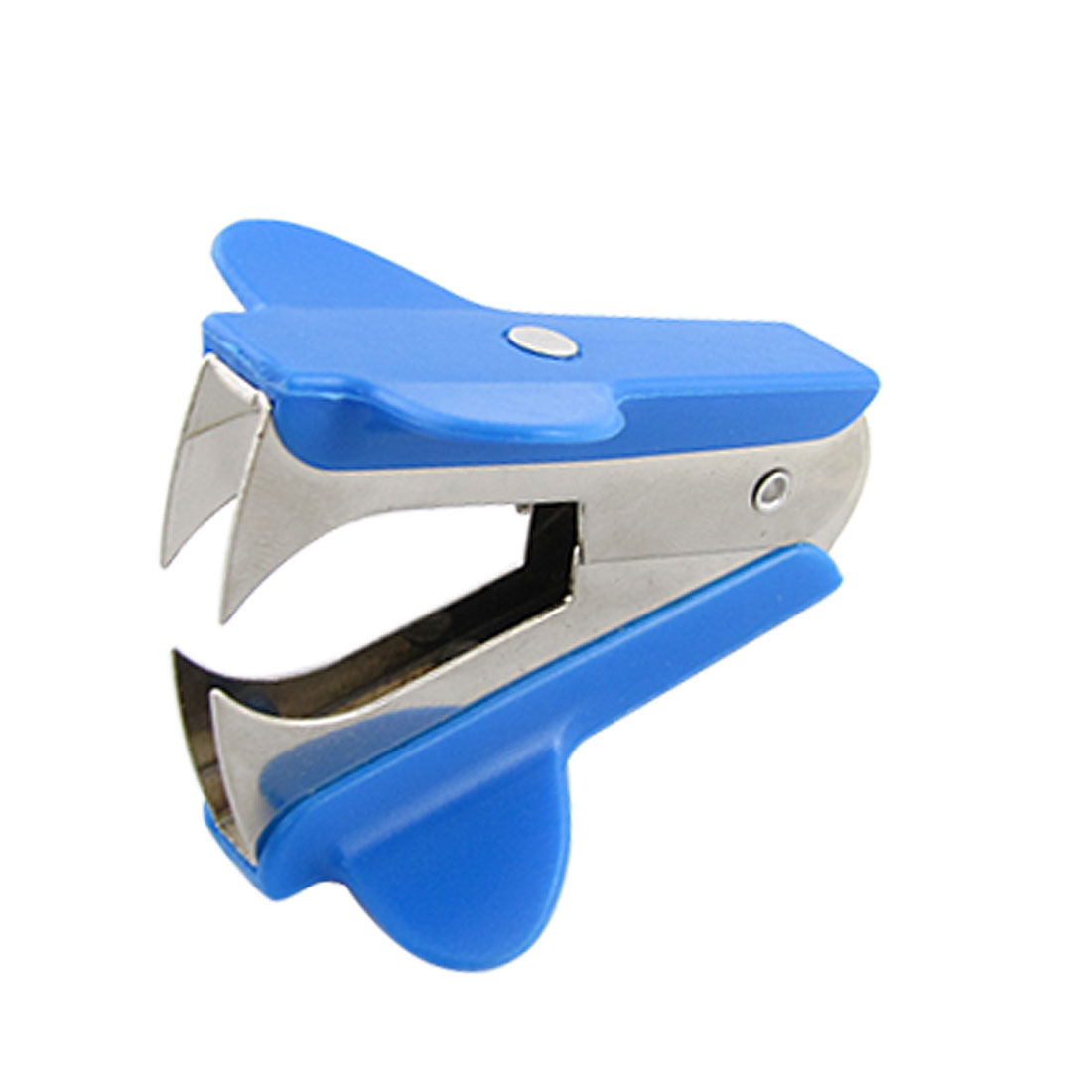 Mini Portable Jaw Style Blue Staple Remover for Home Office School