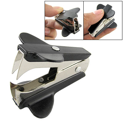 Mini Portable Jaw Style Black Staple Remover for Home Office School