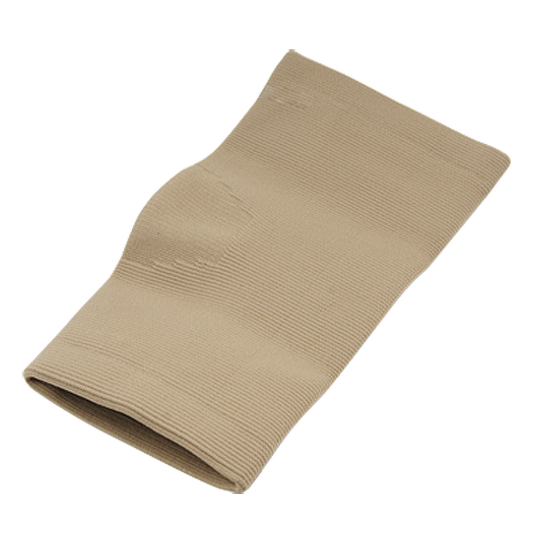 Beige Elastic 22cm Length Sports Protective Elbow Support Wrap
