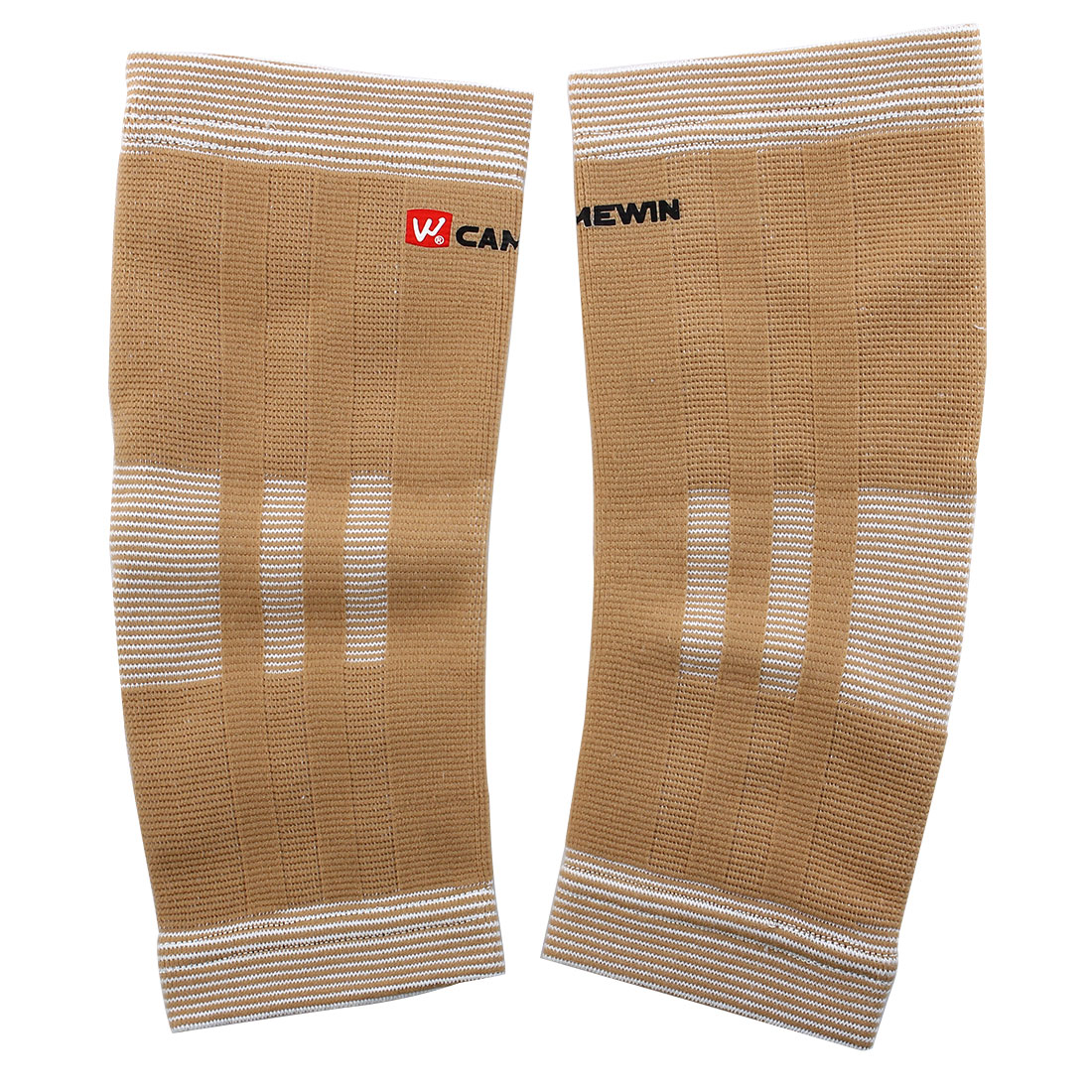 2 PCS Sports Light Brown Elastic Ankle Support Protector
