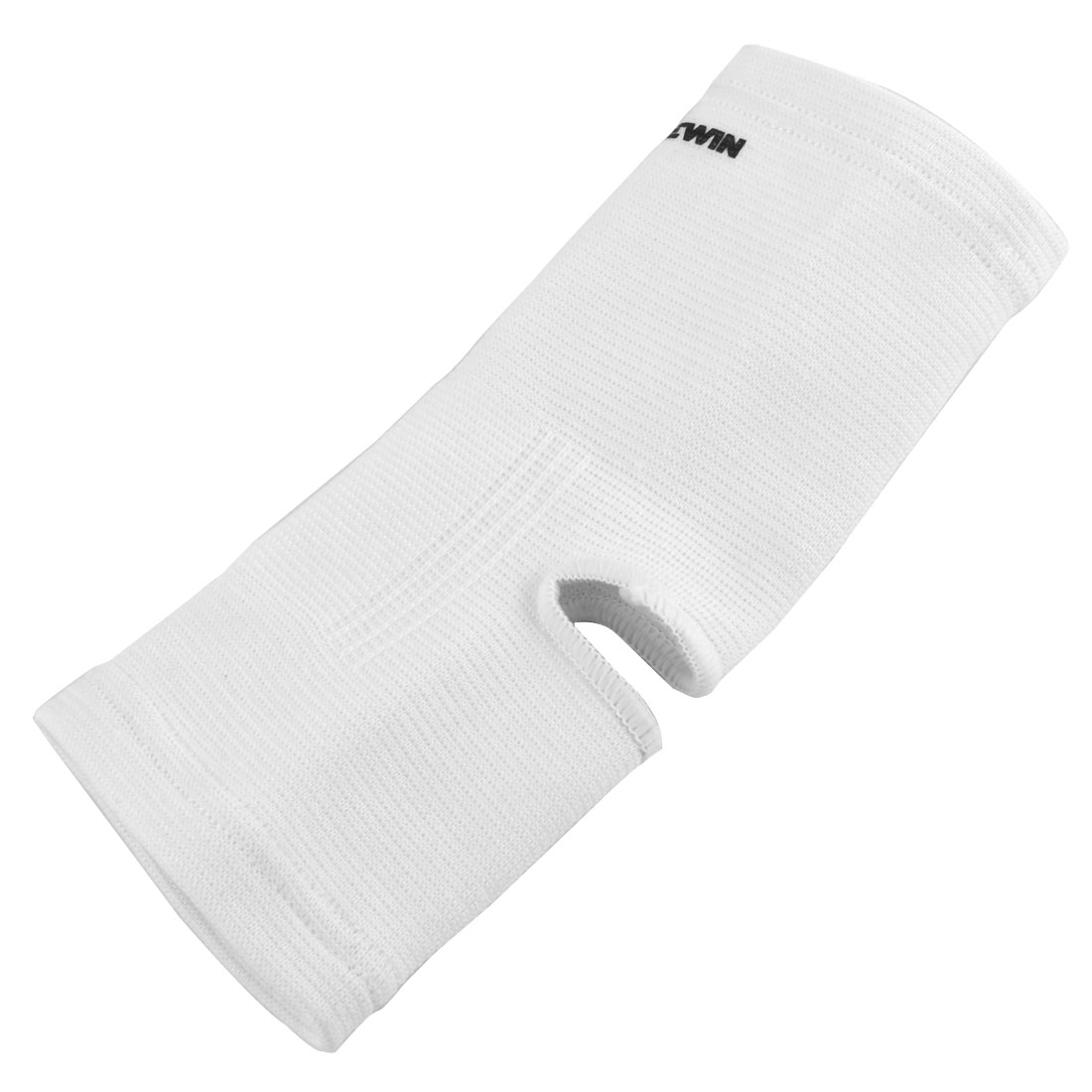 White Elastic Foot Ankle Support Sports Protector