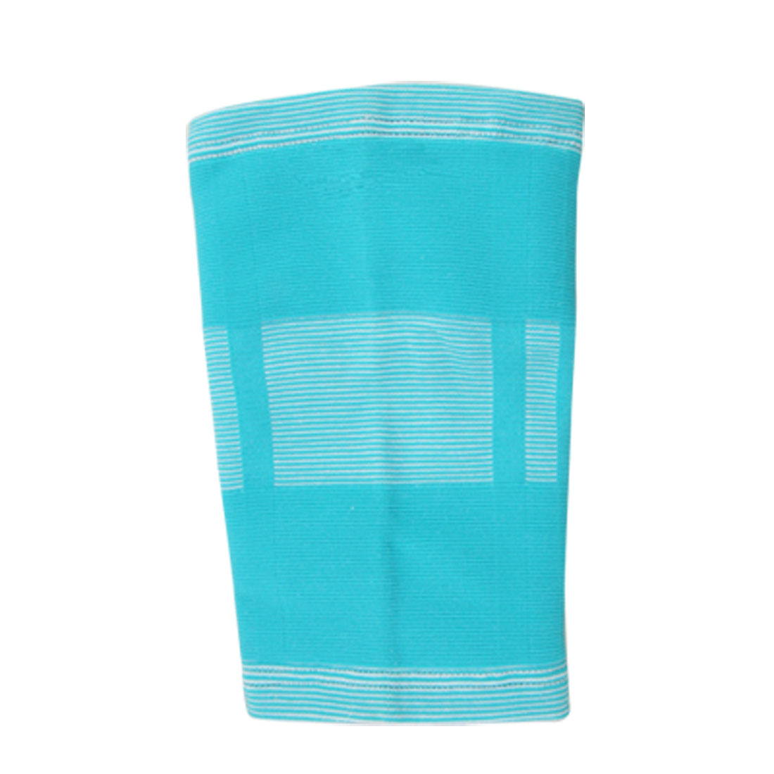 Turquoise Blue Elastic Protective Knee Support Sleeve Brace