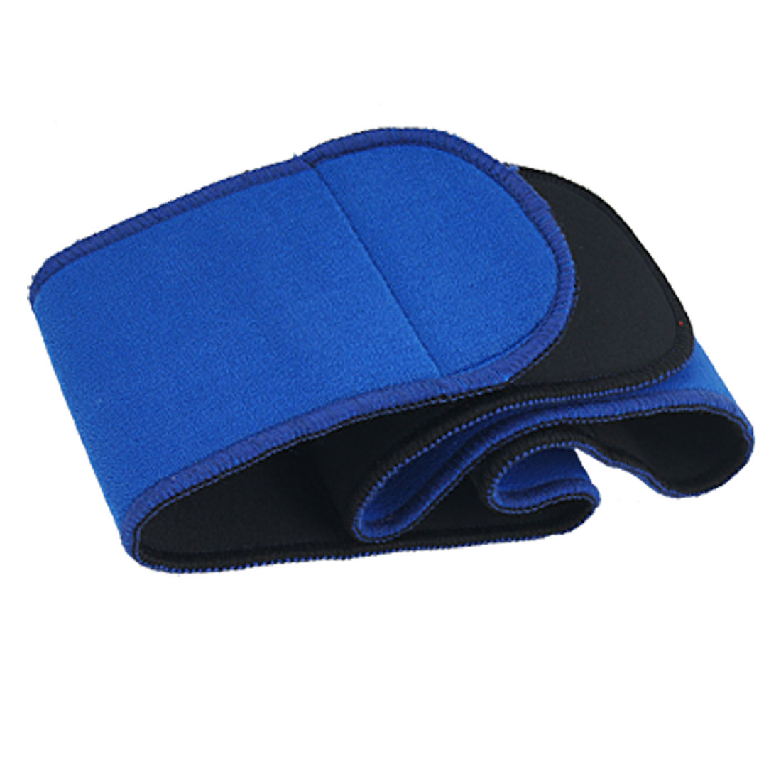 Ladies Sports Black Blue Waist Support Wrapper Band