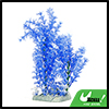 Aqua Landscape Blue White Decorative Plastic Plant for Betta Goldfish Aquarium
