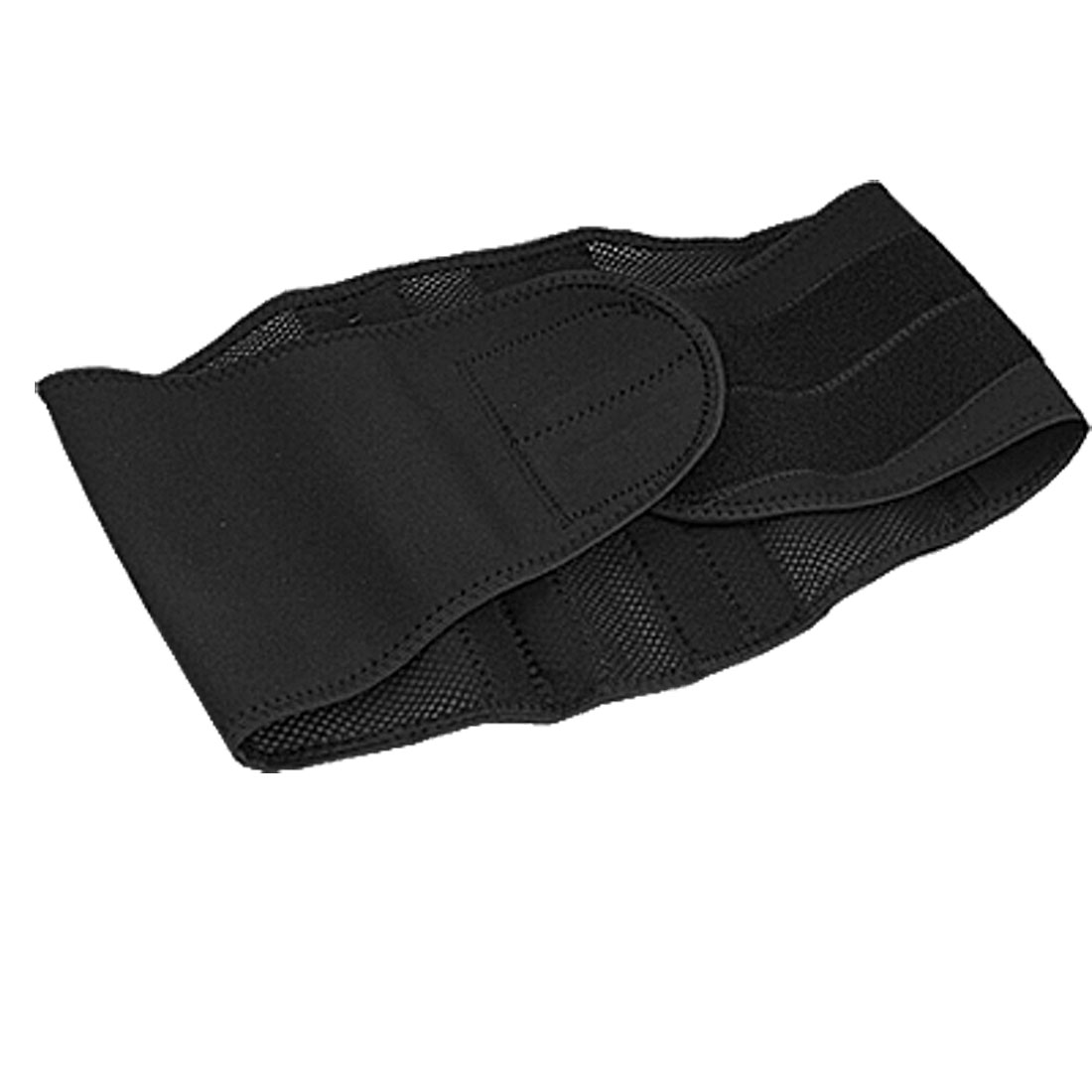 Black Neoprene Breathable Fixing Band Waist Support