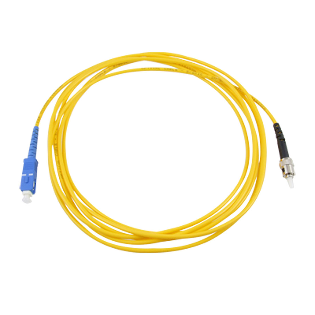 10ft 3 Meters 9/125 SC to ST Simplex Single Mode Fiber Optic Cable