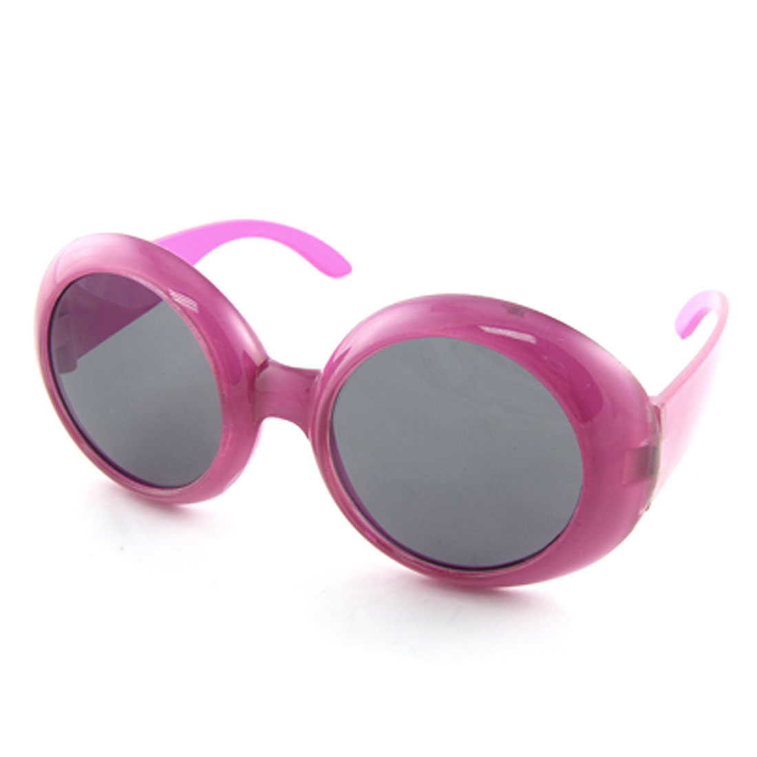 Fashion Full Rim Plastic Fuchsia Sun Glasses for Children
