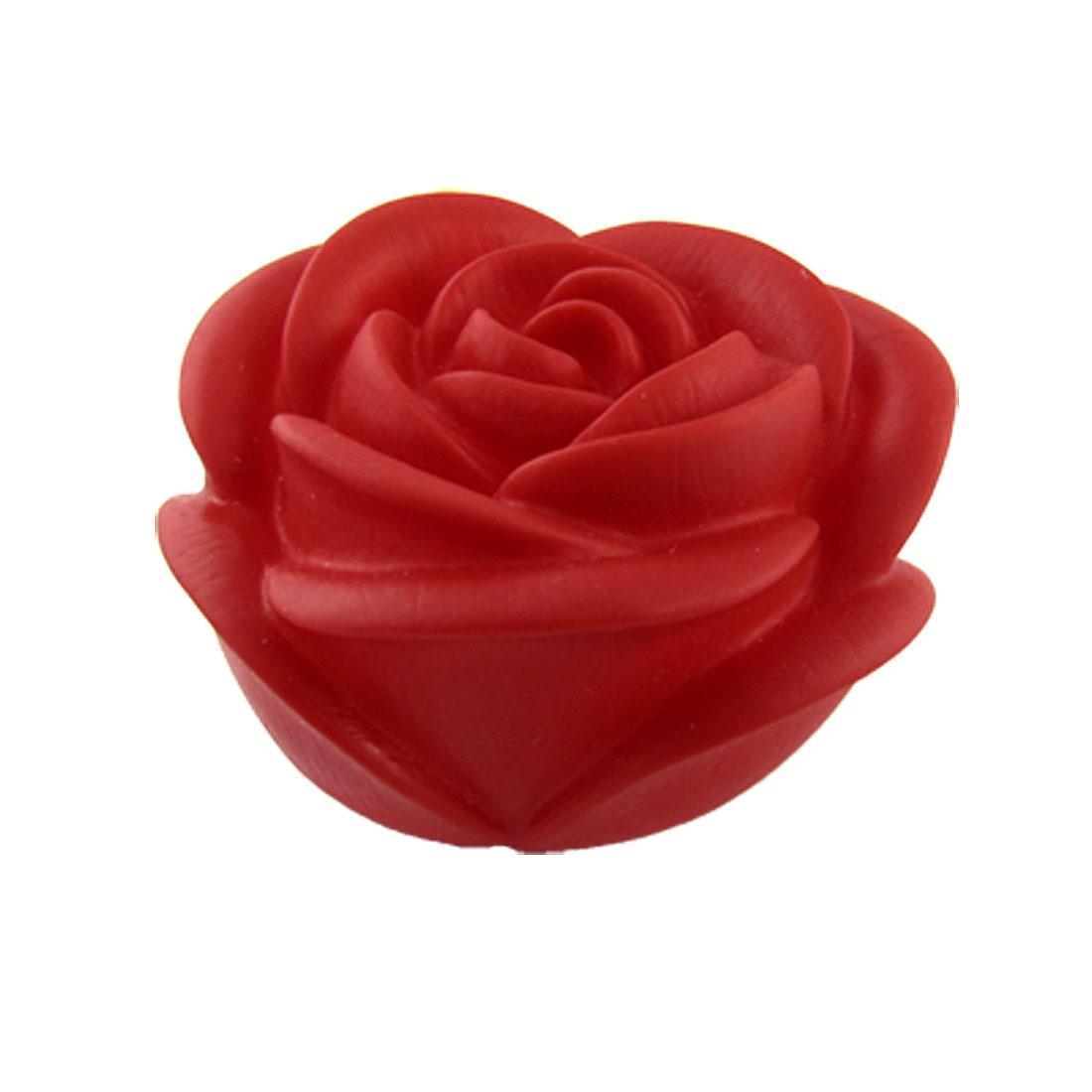 Home Romantic Red Rose Desk Lamps Bedroom Night Light