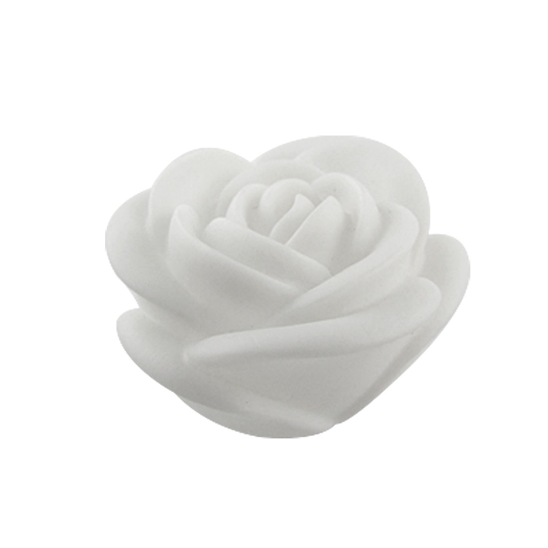 Plastic Rose Shaped LED Color Changing Night Light Lamp