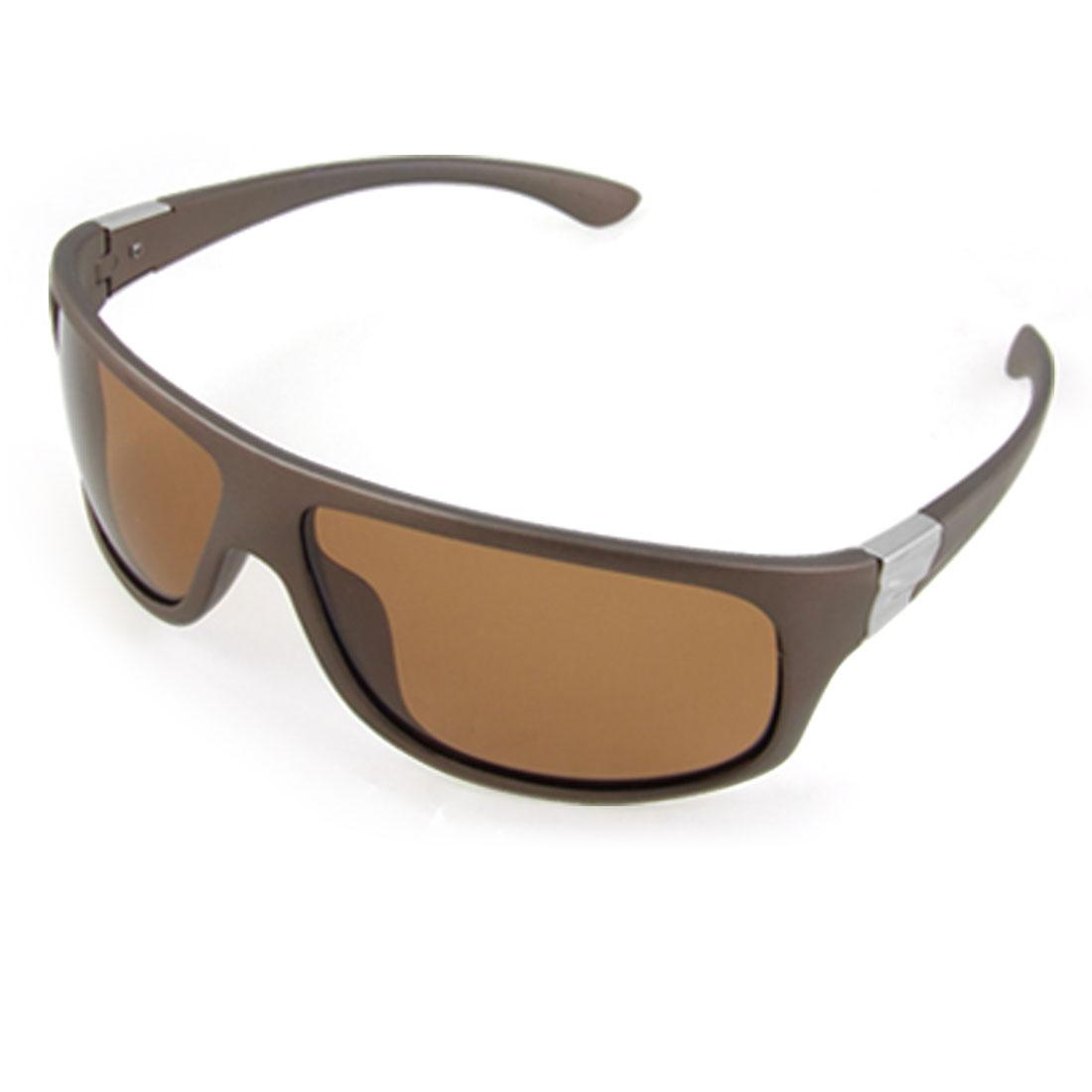 Tawny Full Frame Sunglasses Unisex Polarized Eyewear w Pouch