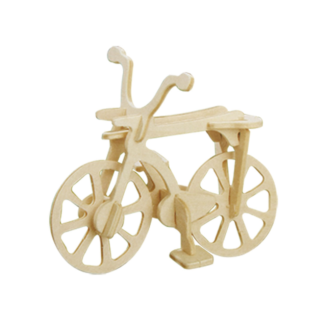 DIY Assemble Bicycle Model Craft 3D Wooden Construction Kit