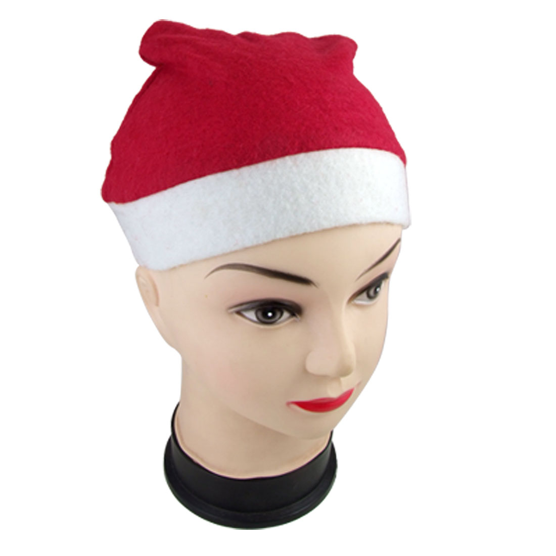 Adult Santa Claus Christmas Holiday Costume Red White Hat