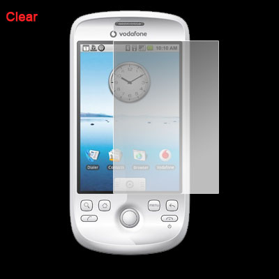 Protective Clear LCD Screen Protector Guard for HTC G2