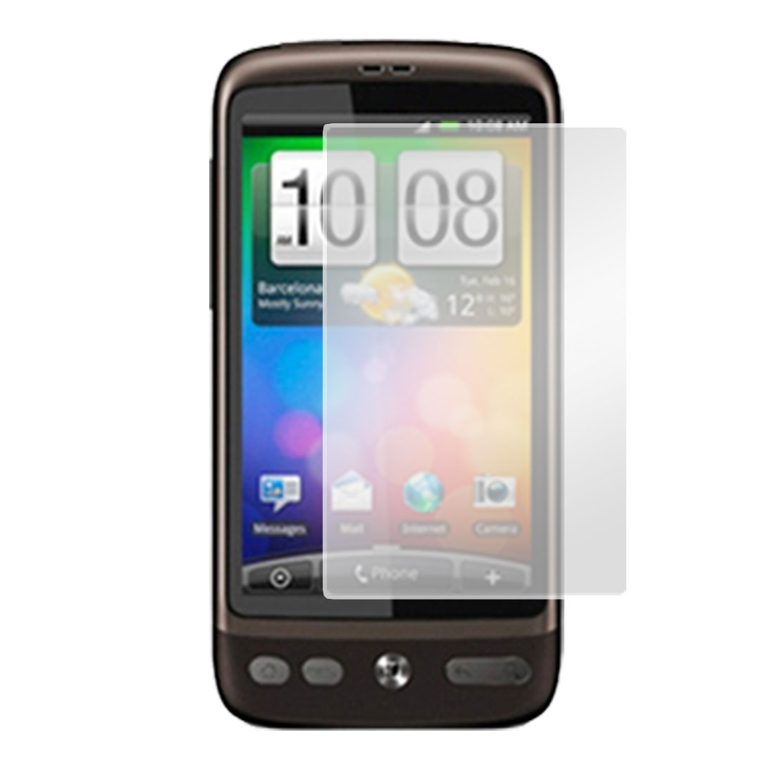 Clear LCD Screen Protector Guard for HTC Desire G7