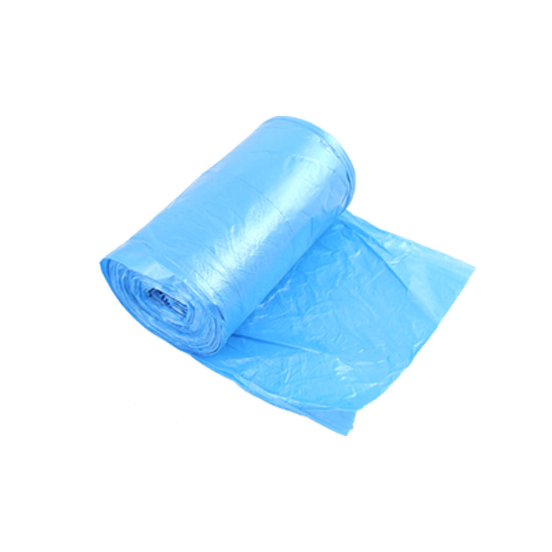 Blue Rectangle Rubbish Garbage Trash Waste Bag Roll