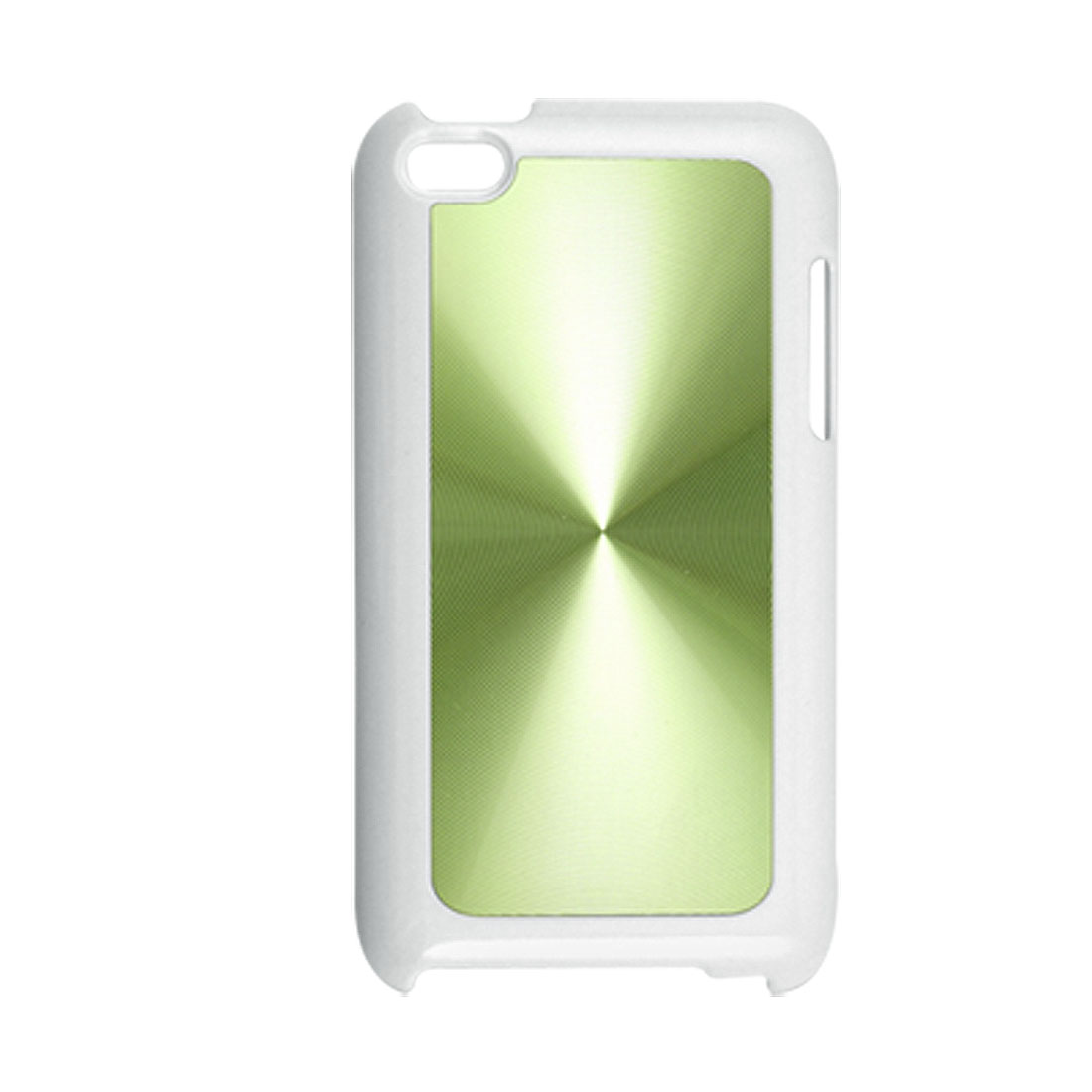 Green Fingerprint Textured Hard Plastic Cover for iPod Touch 4G