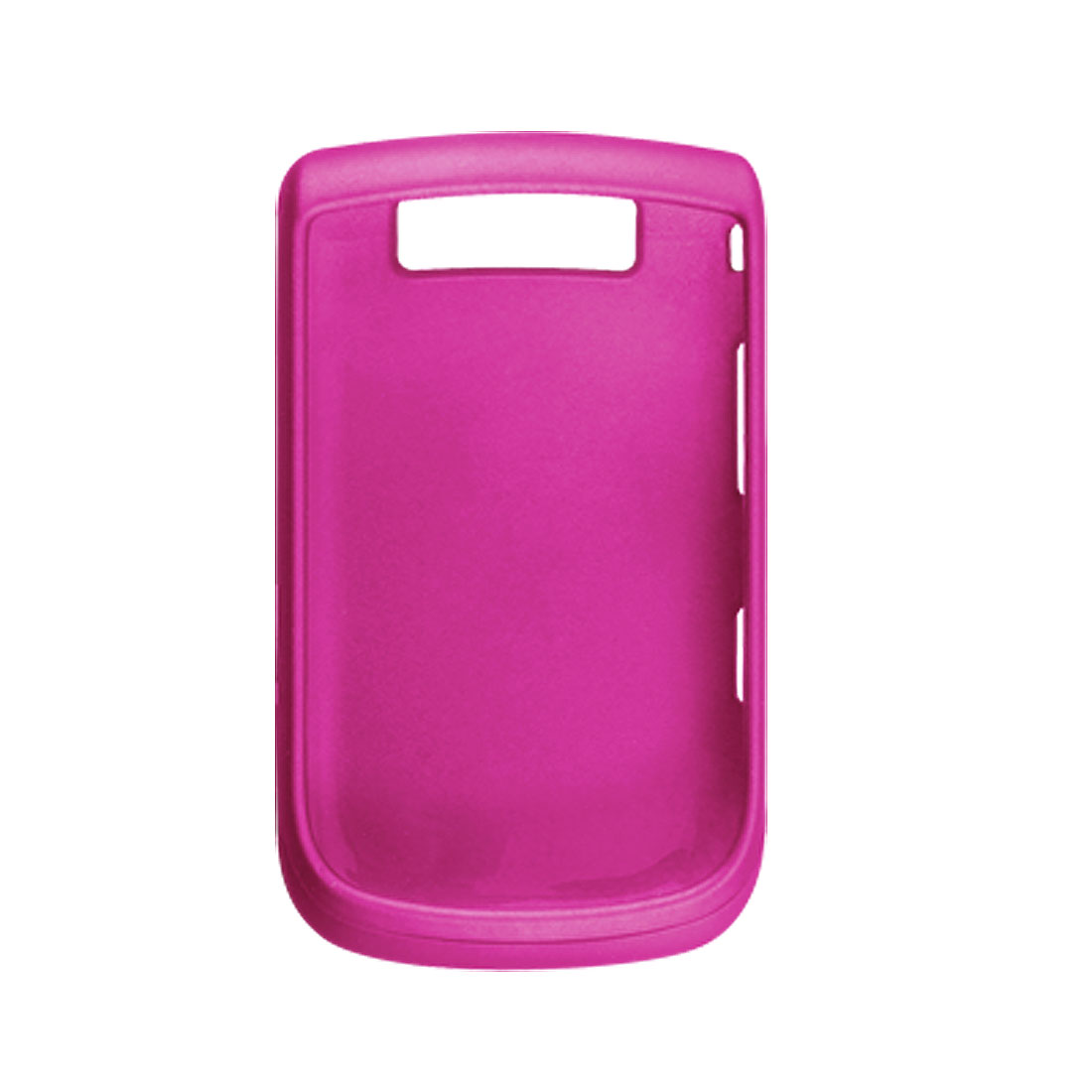 Rubberize Hard Plastic Fuchsia Case for Blackberry 9800