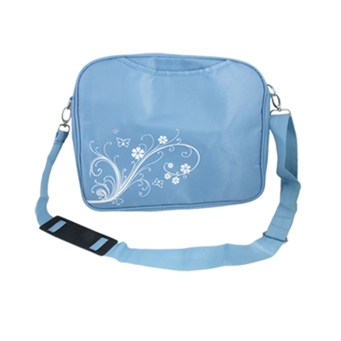 "Blue 12"" Screen Laptop Notebook PC Nylon Handbag w Shoulder Strap"